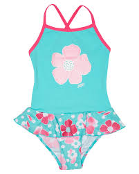 Girls Petal Magic X Back Swimdress Kids