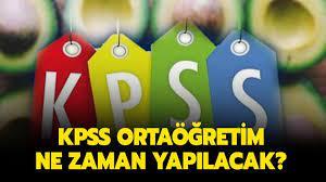 2022 KPSS ortaöğretim ne zaman yapılacak? KPSS ortaöğretim bu sene var mı,  başvuru tarihleri açıklandı mı?