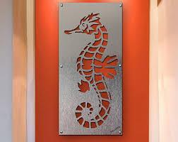 seahorse wall art metal wall art sea life art ocean art seahorse metal wall art on seahorse wall art metal with manatee wall art manatee sculture manatee metal wall art