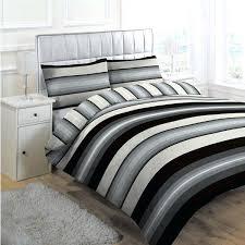black pinstripe bedding linens limited retro stripe duvet cover set black king black and white striped