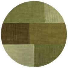 green area rugs rugs the home depot crete pear 7 ft 9 in x 7 ft