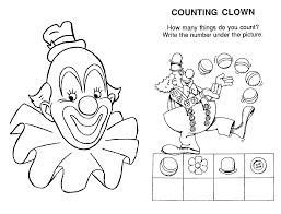Clown 142 Personnages Coloriages Imprimer