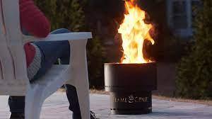 Flame Genie Wood Pellet Fire Pit Dudeiwantthat Com