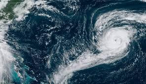มหาสมุทรแอตแลนติกเกิดพายุหมุนพร้อมกัน 5 ลูก