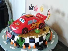 Cars Birthday Cake Designs Classic Style Disney Cars Birthday