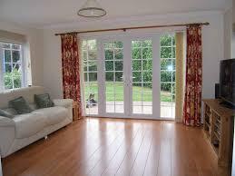 patio door curtains ideas
