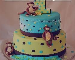 How To Make Easy Best And Homemade Monkey Banana Birthday Cake