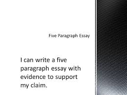 response why do you think people responded in this way to the  3 i can write a five paragraph essay evidence to support my claim