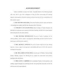 Acknowledgement Letter Sample In Portfolio Cvanepps