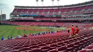 Great American Ball Park Section 110 Cincinnati Reds