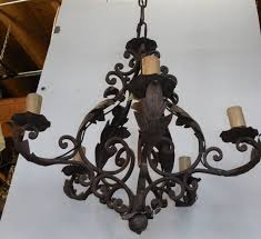 living endearing vintage wrought iron chandelier 0 winsome 1 plan vintage black wrought iron chandelier