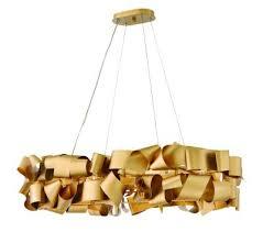 fredrick ramond canada delfina six light linear chandelier deluxe gold