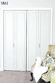 diy bi fold closet door makeovers bright green door folding closet door folding closet doors revit
