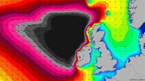 Magicseaweed Charts Unusually High Waves Forecast For Scotland Bbc News