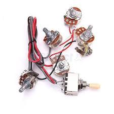 guitar parts wiring harness kit 2v 2t 3 way switch for les paul guitar parts wiring harness kit 2v 2t 3 way switch for les paul lp