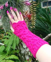 Dragon Scale Fingerless Gloves Pattern Free Amazing Decoration