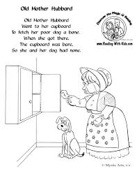 Small Picture free nursery rhyme coloring pages Nursery Rhymes Pinterest