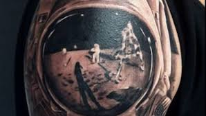 Image Of The Day Astounding Apollo 11 Moonwalk Tattoo