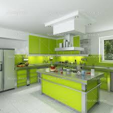 Kitchen Furnishing White Green Kitchen Furnishing Ideas Picture Modern Kitchen Glubdubs