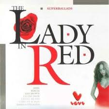 Image result for a lady in red