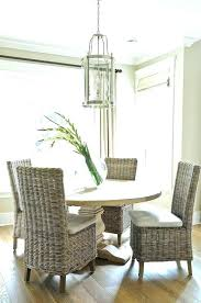 round wicker table with four chairs wicker table chairs patio photo inspirations