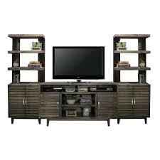 varied brown 3 piece modern entertainment center contemporary wall unit