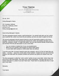 good cover letter template how to write a great cover letter 40 templates resume genius