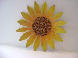 pretty inspiration ideas sunflower wall decor layout design minimalist v sanctuary com 5 yellow orange art
