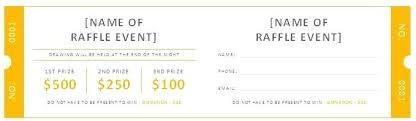 Door Prize Template Free Raffle Ticket Templates Door Prize