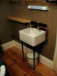 diy bucket sink metal wash tub bathroom sink how to put a drain in galvanized bucket