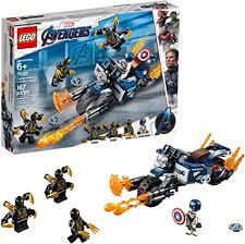 LEGO Marvel Avengers Captain America: Outriders ... - Amazon.com