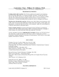 Teacher Curriculum Template Full Curriculum Vitae Template Best Cv Template
