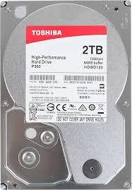 Купить <b>Жесткий диск TOSHIBA</b> P300 <b>HDWD120UZSVA</b> в ...