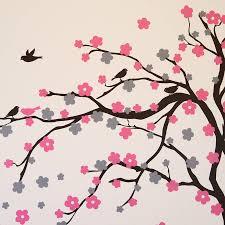 fl blossom tree wall stickers