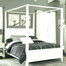 Queen Size Canopy Bed Curtains Simple King Size Canopy Bed With ...