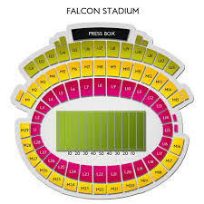 Air Force Academy Football Seating Chart Air Force Falcons Football Tickets 2019 Games Ticketcity