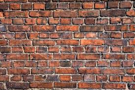 old brick wall background stock photo