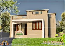 Small Picture Very Small House Exterior Kerala Home Design And Floor Plans