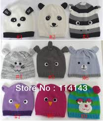 Winter Hat Designs Us 6 99 10 Designs Winter Warm Knit Animal Owl Elephant Handmade Hat Cap Beanie For School Girls 13 20 Years Old Free Shipping In Womens