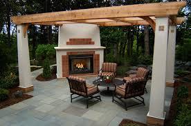 plain design backyard fireplaces magnificent patio fireplaces