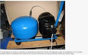 compresor de aire casero. [casero] construccion de un compresor aire ii casero
