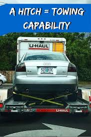 A hitch has many uses! Did you know U-Haul moving trucks have ...