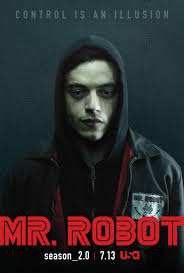 it s packed with near constant fourth wall breaking monologues disorienting dream sequences kinky bdsm scenes that would make a showtime programming  on mr robot wall art with why mr robot is one of tv s best shows vice