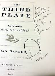 my night dan barber the zero waste chef when i first came across barber s book last year and the inside cover i was a bit well miffed