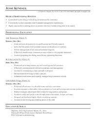 Busser Resume Sample Job Description Resumes Restaurant Samples