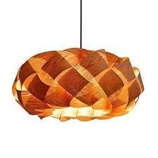 wood veneer lighting. Handmade Wood Braids Hanging 3-Light Pendant Lamp! Made Of Chinese Ash Wood  Veneer Lighting
