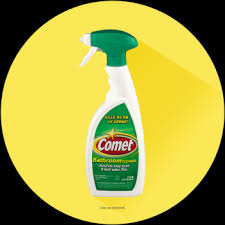 liquid comet bathroom cleaner spray