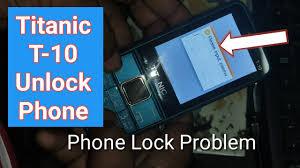 Titanic T 10 Privacy Lock Phone Lock Unlock Bangla Tutorial Youtube