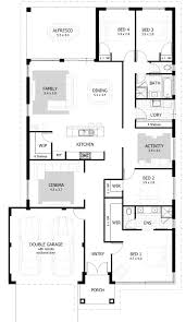 Floorplan Preview · 4 Bedroom | Franklin House Design ...