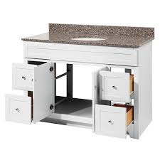 48 inch white bathroom vanity. Foremost WRWA4821D Worthington 48\ 48 Inch White Bathroom Vanity L